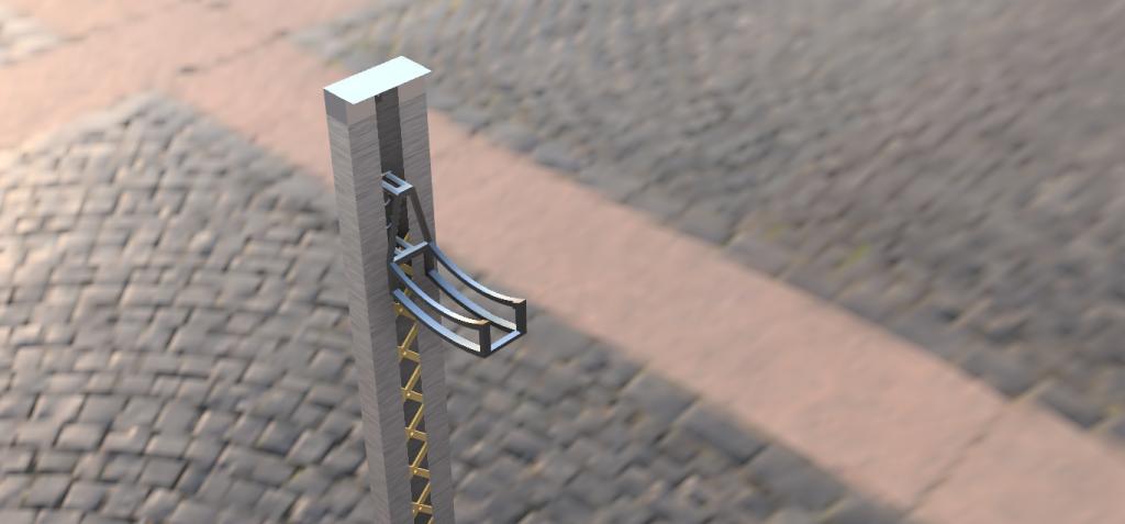 Vertical Bike Parking System
