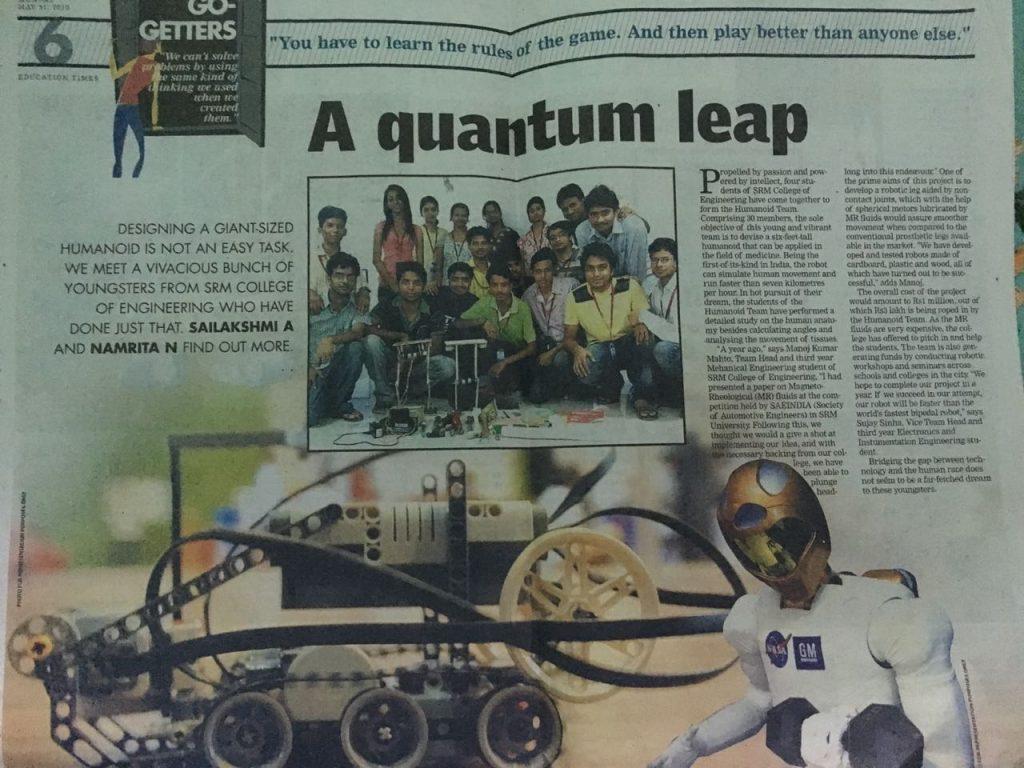 mahto corporation humanoid robot news